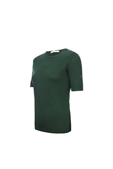 Silk and Cashmere Kazak Yeşil